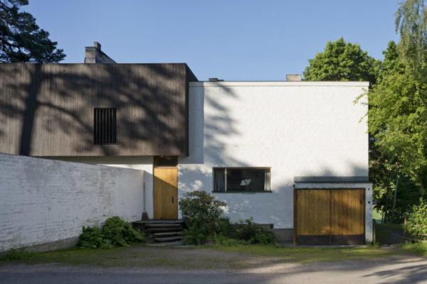 アアルトの自邸兼設計事務所(ヘルシンキ)