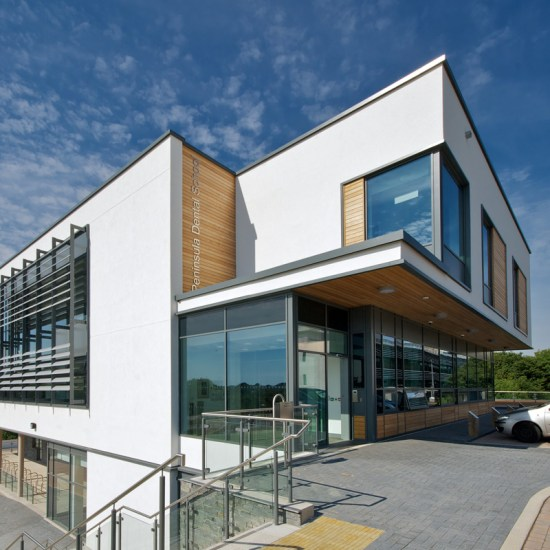 ADG Architects Design Group Architecture Design Graphics Peninsula Dental School Plymouth