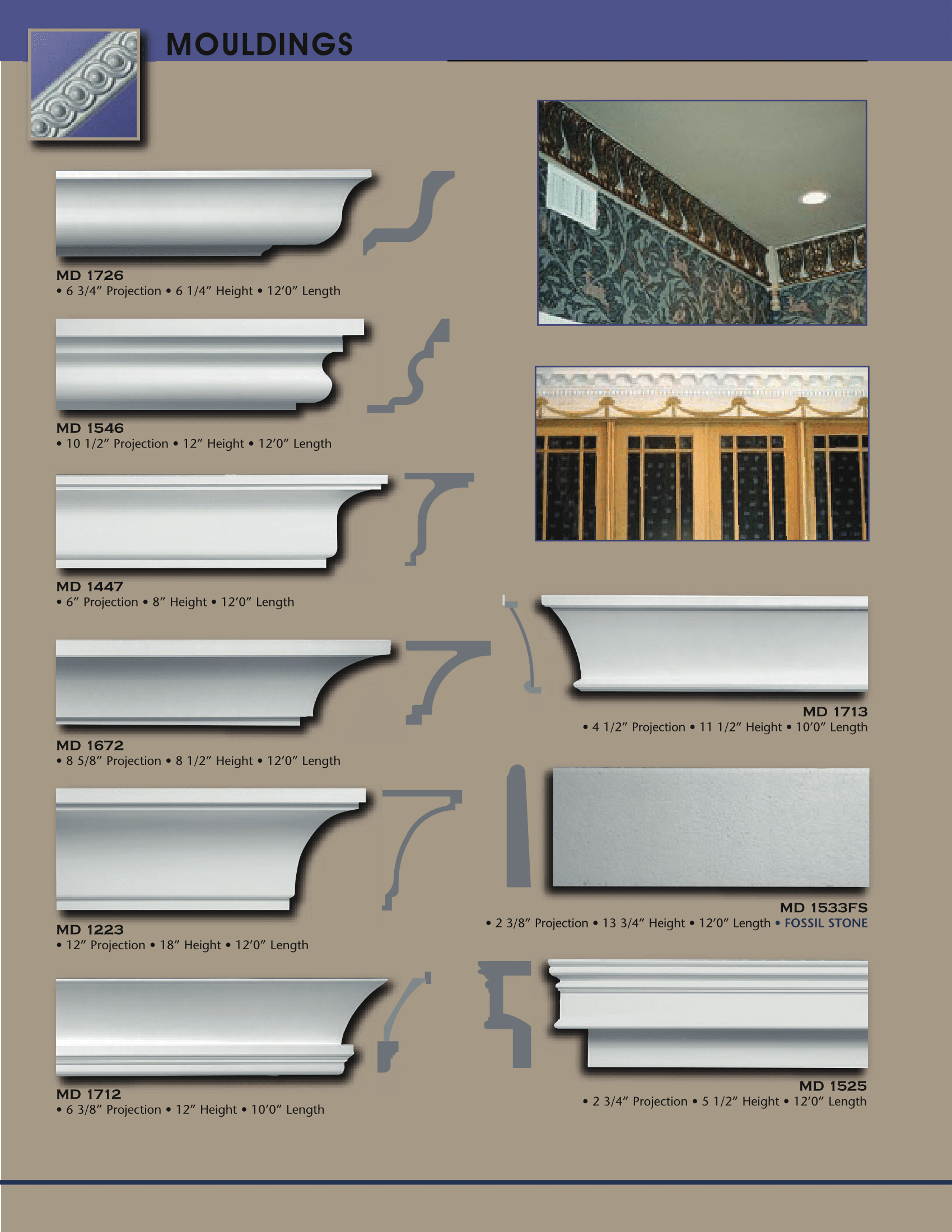 Crown Mouldings – Architectural Effects