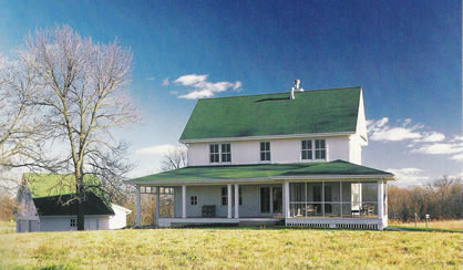 Farmhouse House Plans For Super Popular Country Style Home Field of Dreams Farmhouse 2