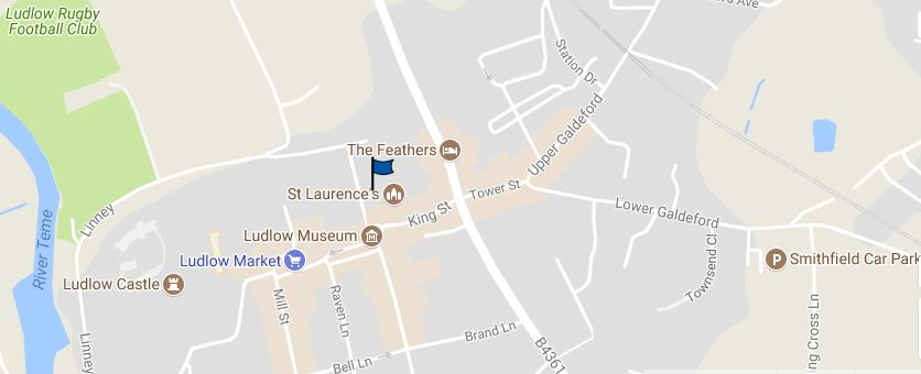 St Laurence location