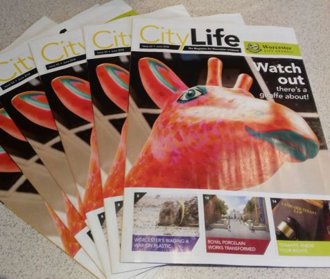 City Life Mag Cover