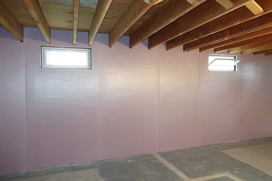 Now the walls are ready for sheetrock!