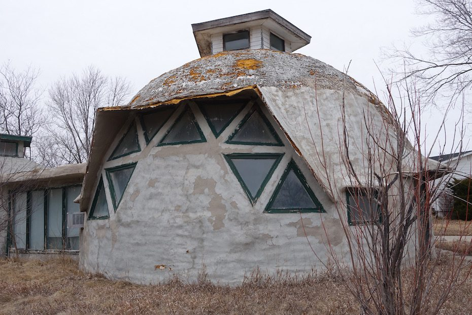 Neglected 70's Dome Home
