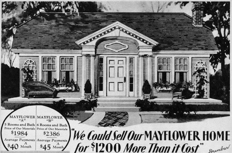 Radford Designs and a Gordon-Van Tine Kit House