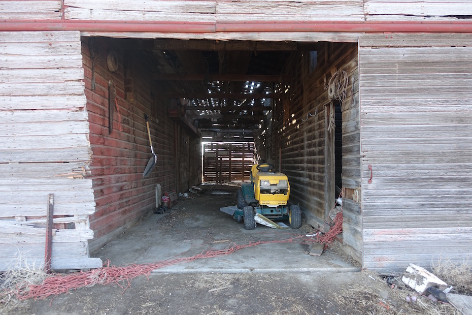A Second Chance for Four Neglected Outbuildings