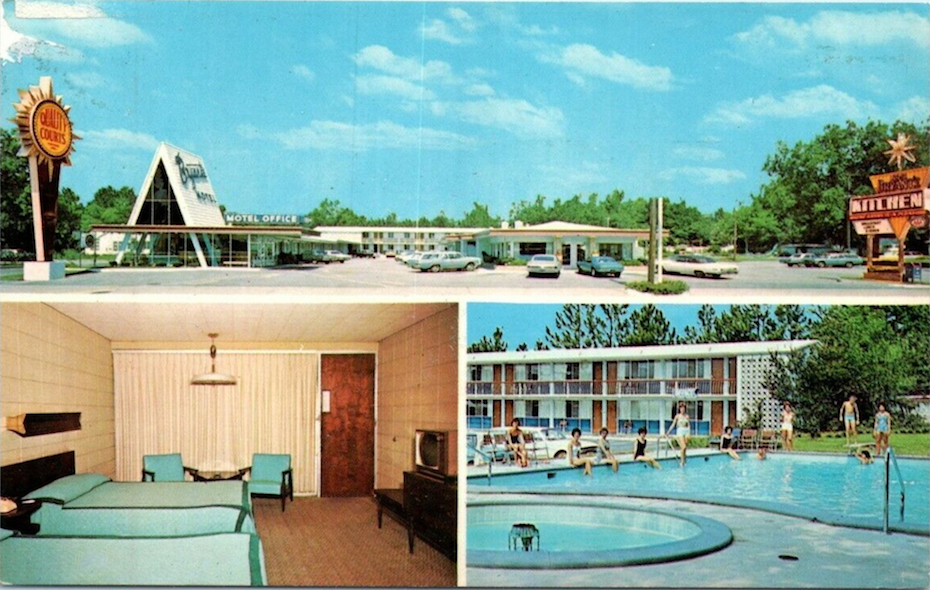 A Retro Look at the Motel… Our Home Away from Home!
