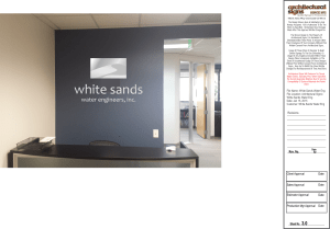 White Sands Water Eng