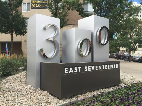 300 day shot monument sign