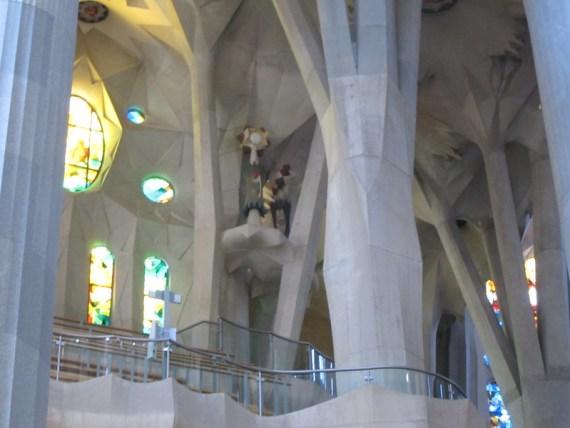 cathedrale la sagrada familia barcelone Gaudi conception