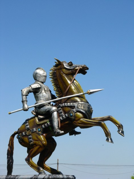 The Noblesse Oblige Horse Statues Architecture