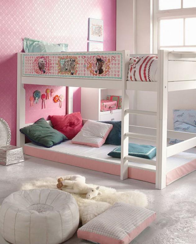 Teenage Girl Room Ideas With Bunk Beds Novocom Top