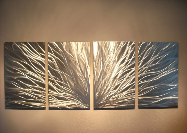 25 Fascinating Handmade Metal Wall Art Pieces