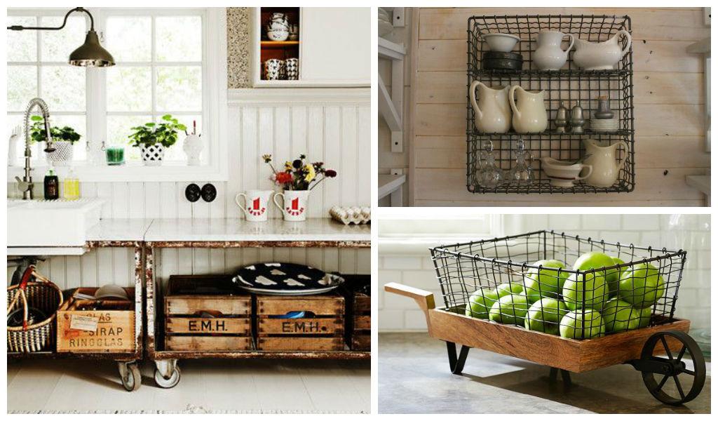 27 Lovely Vintage Kitchen Storage Solutions