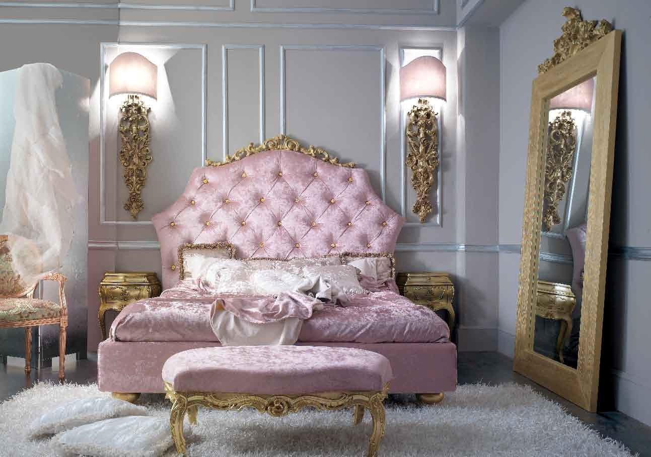 16 Glamorous Baroque Dream Bedroom Design Ideas