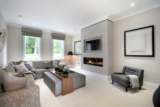 20 Stunning Contemporary Family Room Designs For The Best