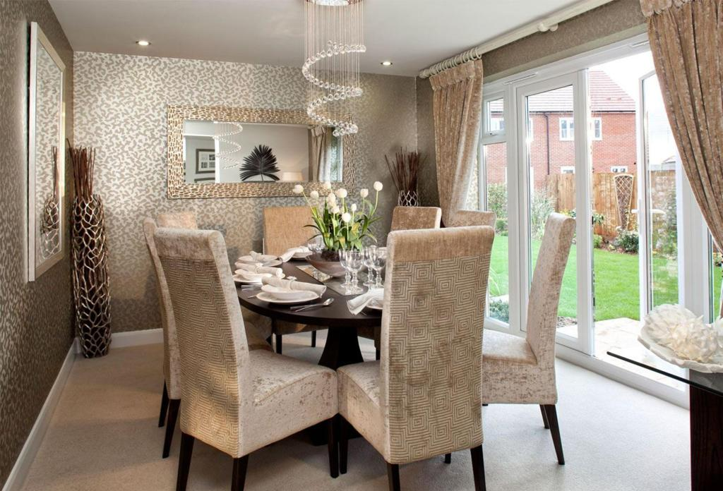 15 Brilliant Wallpaper Ideas For Your Sophisticated Dining