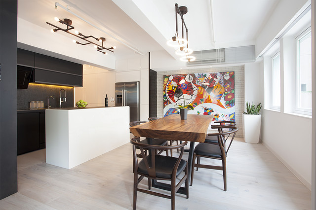 17 Dazzling Industrial Dining Room Interior Designs That