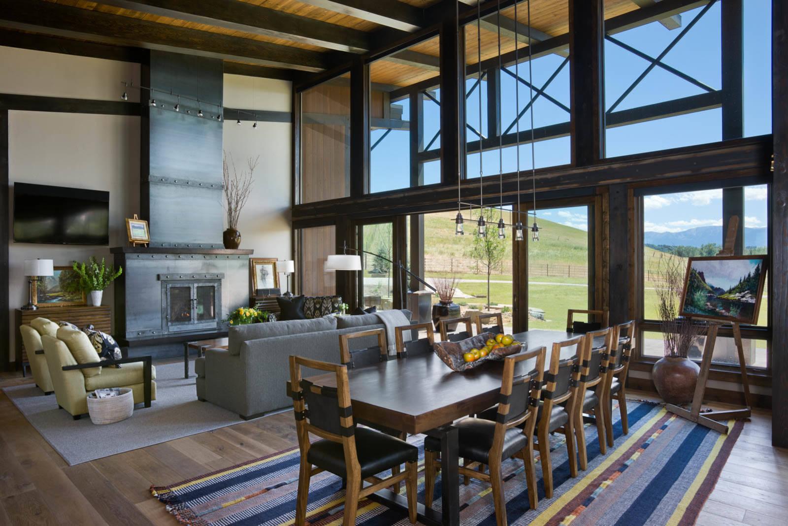 Modern Rustic Cabin Rustic Living Room Ideas For Small Spaces Novocom Top