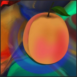 Peach with Colors