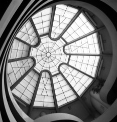 Solomon R. Guggenheim Museum, Skylight, NYC, 1959. Copyright R&R Meghiddo, 1971, All Rights Reserved.