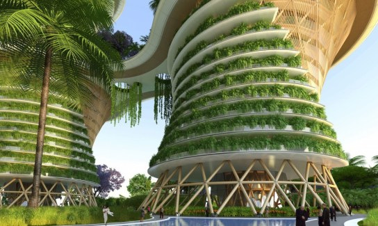 Vincent Callebaut's Hyperions Eco-Neighborhood.
