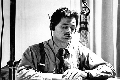 Norman Corwin on his radio days.