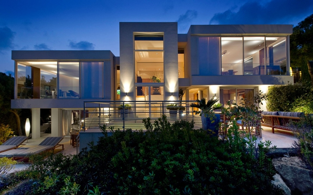Top 50 Modern House Designs Ever Built    Architecture Beast Modern house design at night