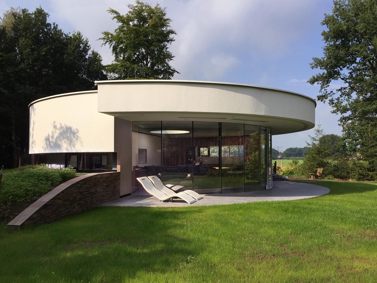 Best Kitchen Gallery: Round Shaped Home Design Round Designs of Round Home Designs  on rachelxblog.com