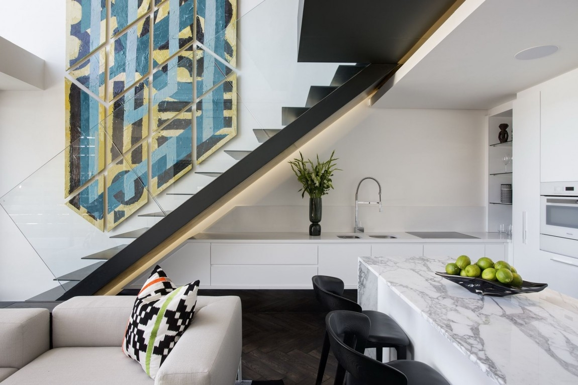 The Best Small Kitchen Ideas Architecture Beast | Small Kitchen Design Under Stairs | Stair Storage | Dining Room | Basement Kitchenette | Space Saving | Small Spaces