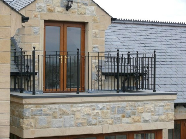 Balcony Railings Wrought Iron Made