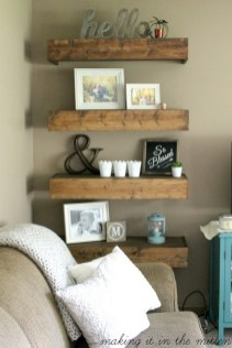 DIY Farmhouse Living Room Wall Decor And Design Ideas