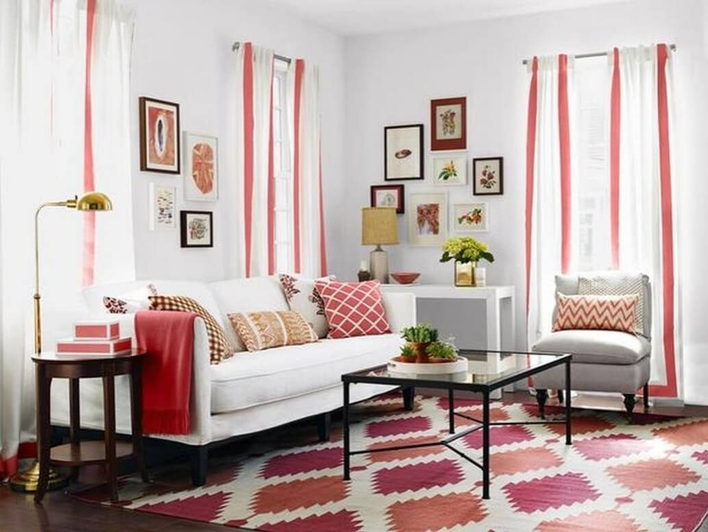Decorating walls on a bud cheap decorating ideas for living room walls home decorating