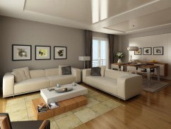 Grey Living Room Modern Color Schemes 2017