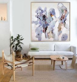 Hand Made Abstract Art, Acrylic Painting Large Canvas Art, Living Room Wall Art