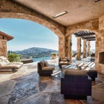 Incredible Mediterranean Style Vineyards Home Malibu California On World Of Architecture
