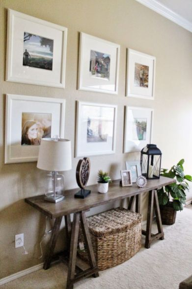 Living Room Decor Ikea Picture Frame Gallery Wall Decor Sofa Tables