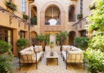 Painting Wrought Iron Furniture Patio Mediterranean With Outdoor Rug Rectangular Window Boxes
