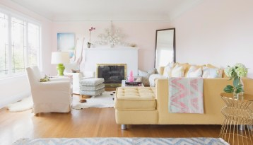 Pink Bliss Minimalist House Paint Colors Trend 2017