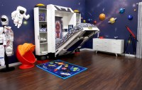 Dream Children's Room Concept With Spaceship For Toddlers Bed Fable Bedworks