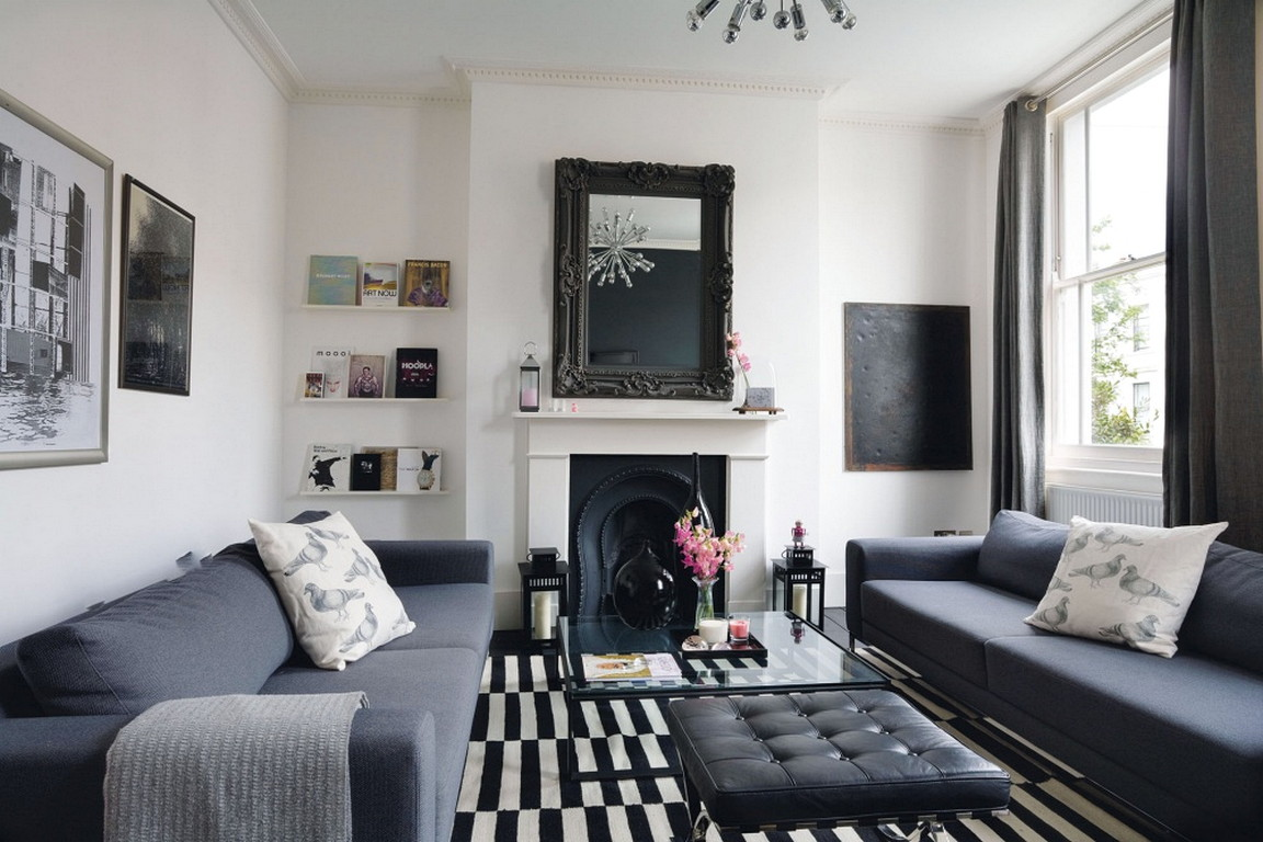 Monochrome Living Room Design Tips