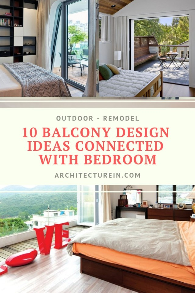 10 Balcony Design Ideas Connected With Bedroom