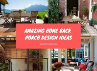Amazing Home Back Porch Design Ideas Featured