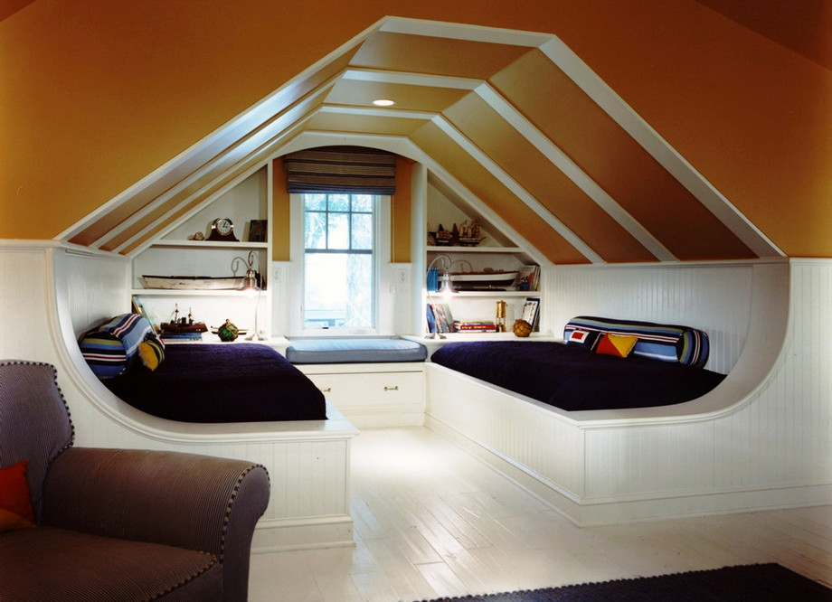 Awesome Ideas to Turning Attic into a Nice Room | ArchitectureIn