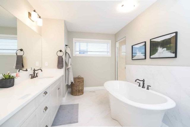 Bathroom Safety For Seniors With Air Ventilation And Outside Light