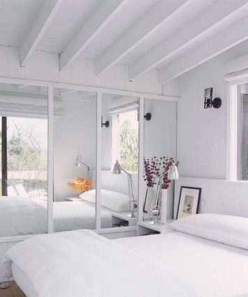 Big Mirror For Bedroom Design Ideas With Narrow Space