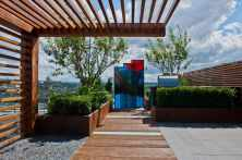 Blocking Weather Effects for Make a Beautiful and Attractive Rooftop Garden