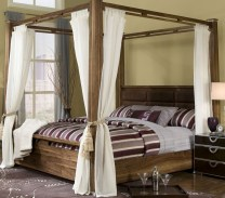 Canopy For Romantic Bedroom Decorating Ideas