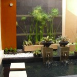 Environmental Friendly Garden And Fountain Design