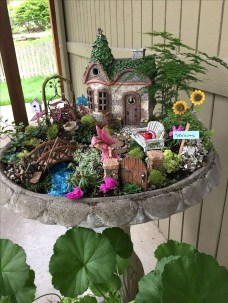 Fairy Tale Themed Garden For Beautiful And Charming Indoor Garden Designs